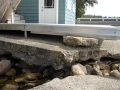 Pier-A-Matic Pier Installed Over Broken Concrete